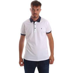 textil Herre Polo-t-shirts m. korte ærmer Navigare NV82097 hvid
