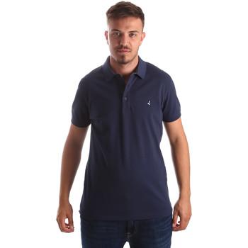 textil Herre Polo-t-shirts m. korte ærmer Navigare NV82097AD Blå