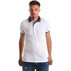 textil Herre Polo-t-shirts m. korte ærmer Navigare NV82099 hvid