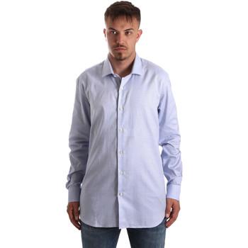 textil Herre Skjorter m. lange ærmer Navigare NV90005 FR Blå