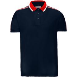 textil Herre Polo-t-shirts m. korte ærmer Invicta 4452206/U Blå