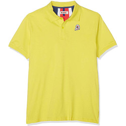 textil Herre Polo-t-shirts m. korte ærmer Invicta 4452208/U Gul