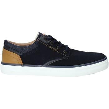 Sko Herre Lave sneakers Wrangler WM91121A Blå