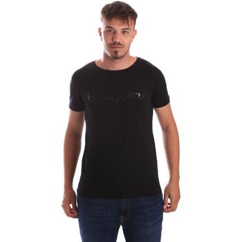 textil Herre T-shirts m. korte ærmer Byblos Blu 2MT0023 TE0048 Sort