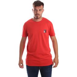 textil Herre T-shirts m. korte ærmer Byblos Blu 2MT0010 TE0045 Rød