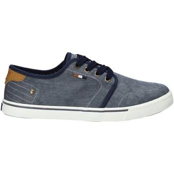 Sko Herre Lave sneakers Wrangler WM91100A Blå