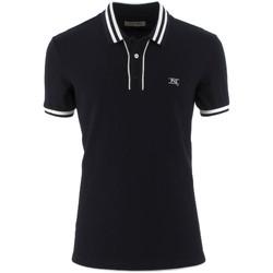 textil Herre Polo-t-shirts m. korte ærmer NeroGiardini P972210U Blå