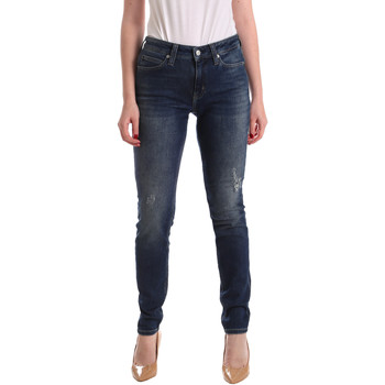 textil Dame Jeans - boyfriend Calvin Klein Jeans J20J209427 Blå