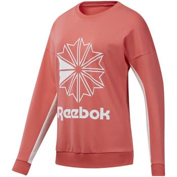 textil Dame Sweatshirts Reebok Sport DT7245 Lyserød