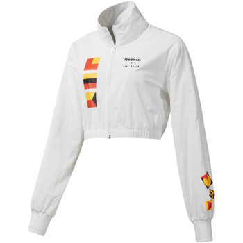 textil Dame Jakker Reebok Sport DY9376 hvid