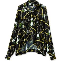 textil Dame Skjorter / Skjortebluser Liu Jo W19499T5335 Sort
