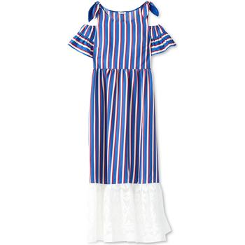 textil Dame Lange kjoler Liu Jo F19228T2311 Blå