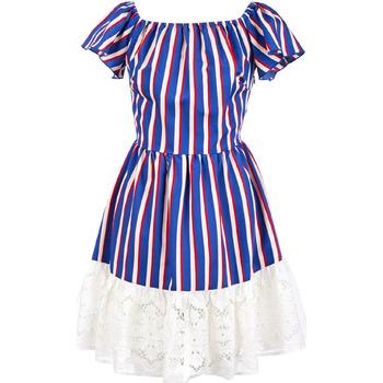 textil Dame Korte kjoler Liu Jo F19384T2311 Blå