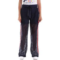 textil Dame Træningsbukser Fracomina FR19SP905 Blå