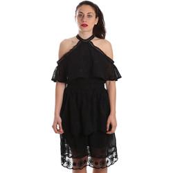 textil Dame Korte kjoler Fracomina FR19SP539 Sort