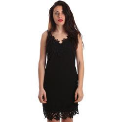 textil Dame Korte kjoler Fracomina FR19SP024 Sort
