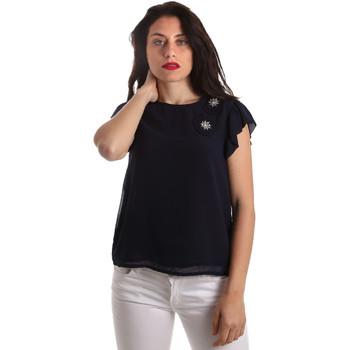 textil Dame Toppe / Bluser Fracomina FR19SP567 Blå