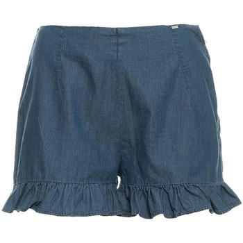 textil Dame Shorts Fracomina FR19SM503 Blå