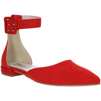 Sko Dame Ballerinaer Grace Shoes 977003 Rød