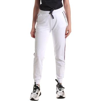 textil Dame Træningsbukser Ea7 Emporio Armani 3GTP54 TJ31Z hvid