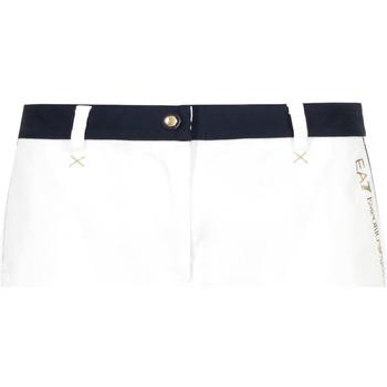 textil Dame Shorts Ea7 Emporio Armani 3GTS02 TN29Z hvid