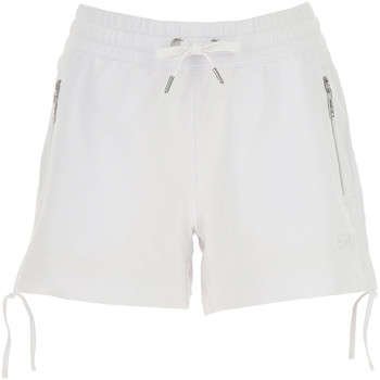 textil Dame Shorts Ea7 Emporio Armani 3GTS52 TJ31Z hvid