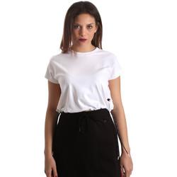 textil Dame T-shirts m. korte ærmer Champion 111487 hvid