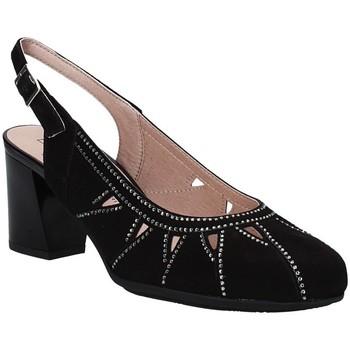 Sko Dame Højhælede sko Pitillos 5554 Sort