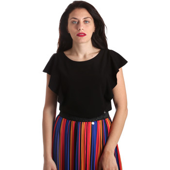 textil Dame Toppe / Bluser Nero Giardini P962510D Sort