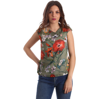 textil Dame Toppe / Bluser Nero Giardini P962570D Grøn