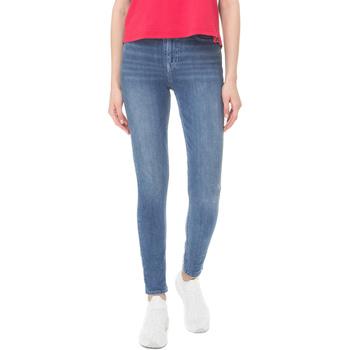 textil Dame Smalle jeans Superdry G70108DT Blå