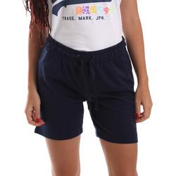textil Dame Shorts Key Up 5F59G 0001 Blå
