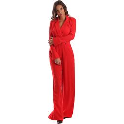 textil Dame Buksedragter / Overalls Byblos Blu 2WD0010 TE0012 Rød