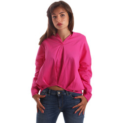textil Dame Skjorter / Skjortebluser Byblos Blu 2WR0004 TE0014 Lyserød