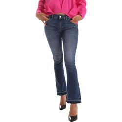 textil Dame Bootcut jeans Byblos Blu 2WJ0012 TE0126 Blå
