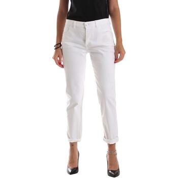 textil Dame Smalle jeans Byblos Blu 2WJ0011 TE0128 hvid
