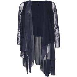 textil Dame Veste / Cardigans Smash S1953411 Blå