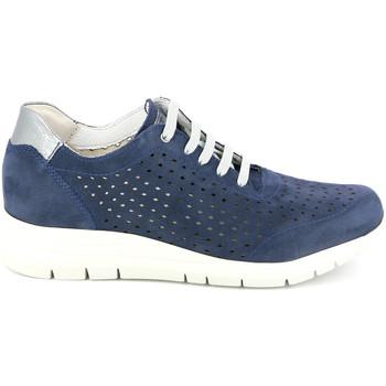 Sko Dame Lave sneakers Grunland SC4440 Blå