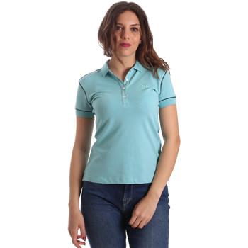 textil Dame Polo-t-shirts m. korte ærmer La Martina NWP002 PK001 Blå