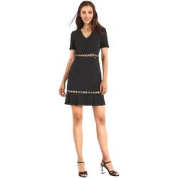 textil Dame Korte kjoler Gaudi 911FD15006 Sort