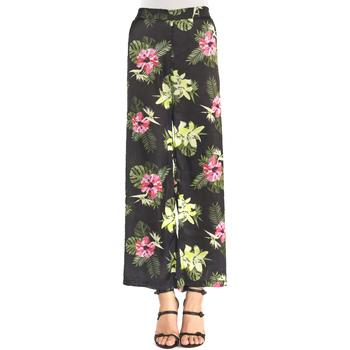 textil Dame Løstsiddende bukser / Haremsbukser Gaudi 911FD25018 Sort