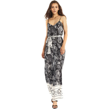 textil Dame Buksedragter / Overalls Gaudi 911FD25027 Sort