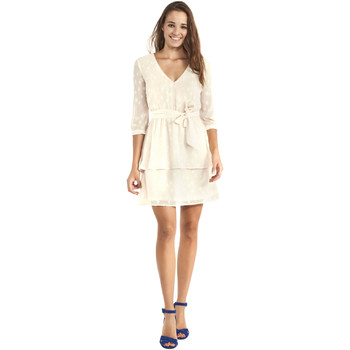 textil Dame Korte kjoler Gaudi 911BD15005 Beige