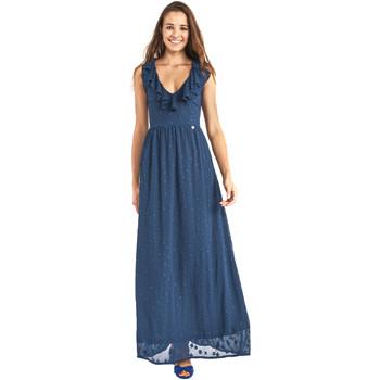 textil Dame Lange kjoler Gaudi 911BD15007 Blå