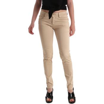 textil Dame Jeans - skinny Gaudi 911BD25010 Beige