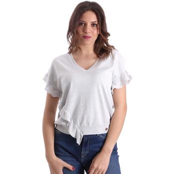textil Dame Toppe / Bluser Gaudi 911BD53010 Grå