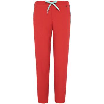 textil Dame Træningsbukser Pepe jeans PL211284 Rød