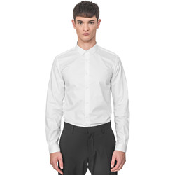 textil Herre Skjorter m. lange ærmer Antony Morato MMSL00596 FA400072 hvid