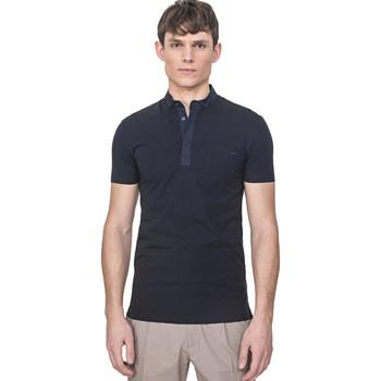 textil Herre Polo-t-shirts m. korte ærmer Antony Morato MMKS01741 FA120022 Blå