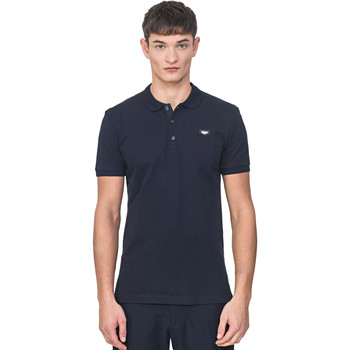 textil Herre Polo-t-shirts m. korte ærmer Antony Morato MMKS01738 FA100083 Blå
